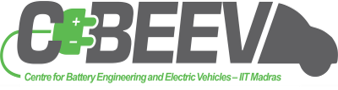 Centre for battery engineering and electric vehicles logo
