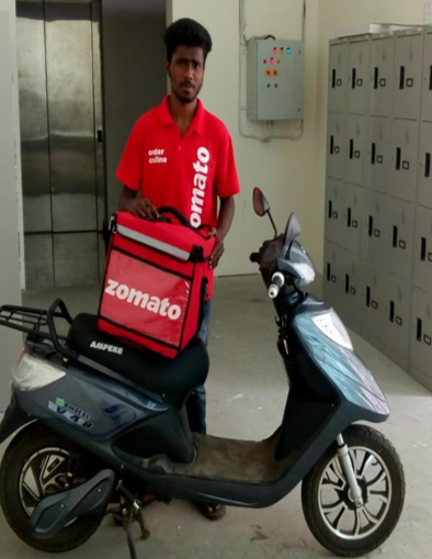 2W Delivery Management - Zomato